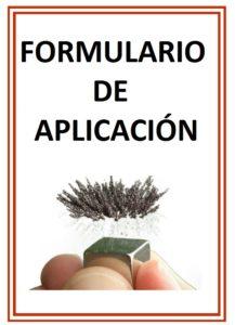 FORMULARIO DE PLAICACION